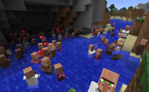 Villagers...multiplied